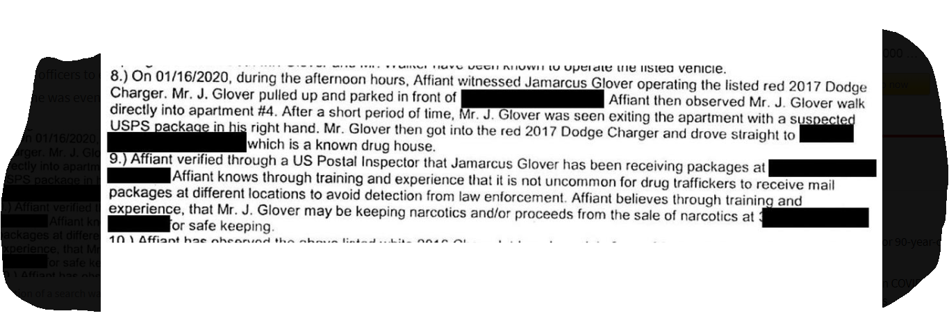 breonna taylor search warrant